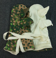 WWII German Dot 44 Camo Reversible Gloves Winter Mittens