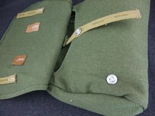 Load image into Gallery viewer, WW2 German Tropical Bread Bag + Strap Green