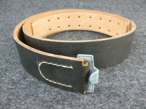 WWII German EM Leather Belt Reproduction