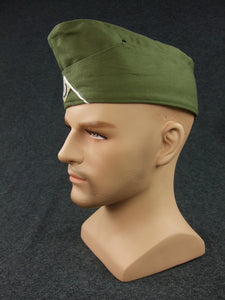 WWII German DAK Side Cap EM Green
