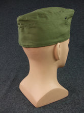 Load image into Gallery viewer, WWII German DAK Side Cap EM Green