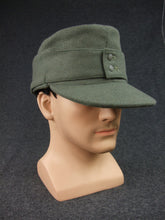Load image into Gallery viewer, WWII German Elite Wool Field Cap EM Reproduction