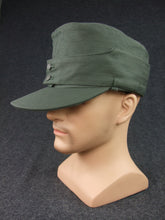 Load image into Gallery viewer, WWII German WH HBT M43 Field Cap EM Soldier