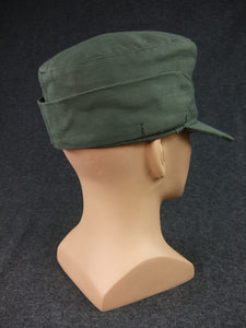 WWII German WH HBT M43 Field Cap EM Soldier