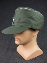 Load image into Gallery viewer, WWII German Elite HBT M43 Field Cap Officer