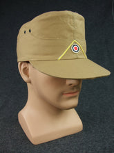 Load image into Gallery viewer, WWII German LW Tropic Field Cap EM Tan