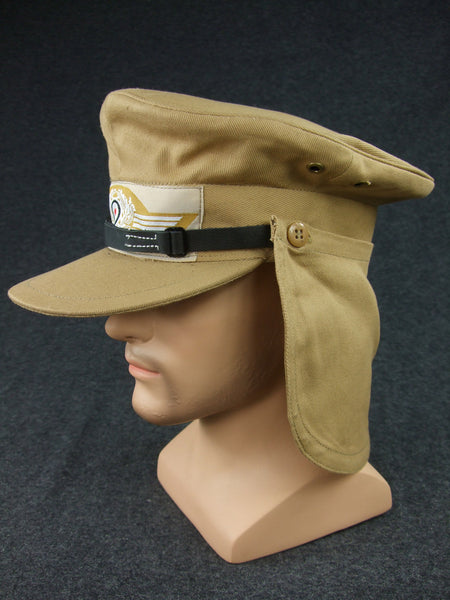 WWII German LW Tropical Herman Meyer Cap