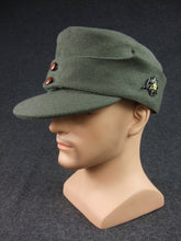 Load image into Gallery viewer, WWII German WH Gebirgsjäger Mountain Troops Wool Field Cap