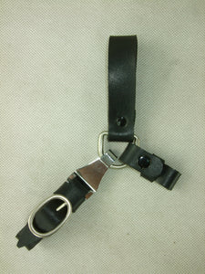 WW2 German Leather Elite Sword Hanger Black