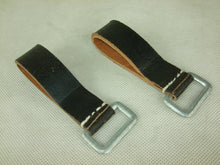 Load image into Gallery viewer, WW2 German Soldier EM Y-Straps D-Ring Black X2