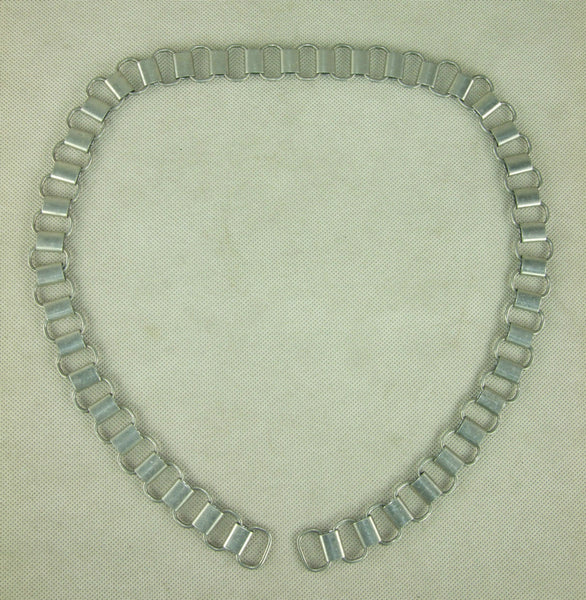 WW2 German Feldgendarmerie Gorget Aluminum Chain