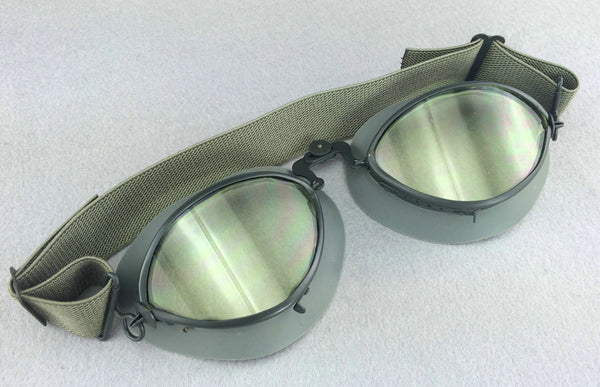 WW2 German Motorcycle Pilot Aviator Troops Infantry Goggles