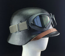 Load image into Gallery viewer, WW2 German Motorcycle Pilot Aviator Troops Infantry Goggles