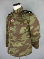 WWII German Elite Italy Camo M43 Field Tunic
