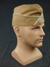 Load image into Gallery viewer, WWII German LW Tropic Overseas Cap Officer