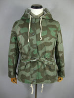 WWII German WH Splinter Camo Reversible Winter Parka