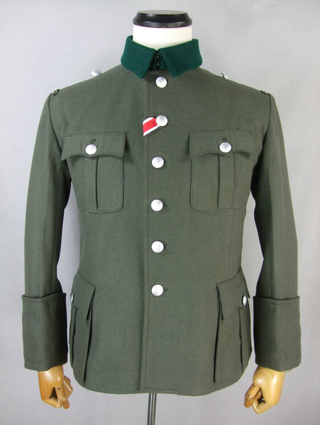 WWII World War 2 German M36 Officer Wool Field Tunic