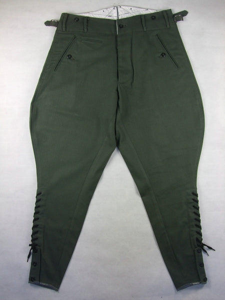 WWII German M36 Officer Summer HBT Field Breeches
