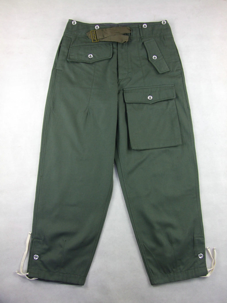 WWII German WH Assault Gun HBT Wrapper Trousers Pants