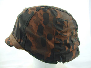 WWII German Elite Plane Tree Number 1/2 Reversible Helmet Cover