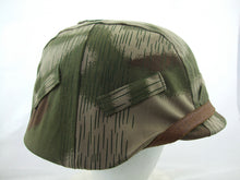 Load image into Gallery viewer, WWII German Tan & Water Camo M35 Helmet Cover