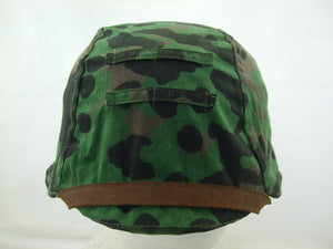WWII German Elite Plane Tree Number 3/4 Reversible Helmet Cover