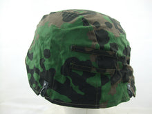 Load image into Gallery viewer, WWII German Elite Plane Tree Number 3/4 Reversible Helmet Cover