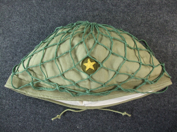 WW2 Japanese Army IJA Helmet Cover Late + Net Set