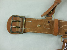 Load image into Gallery viewer, WW2 Imperial IJN Marine Officer Leather Sam Belt