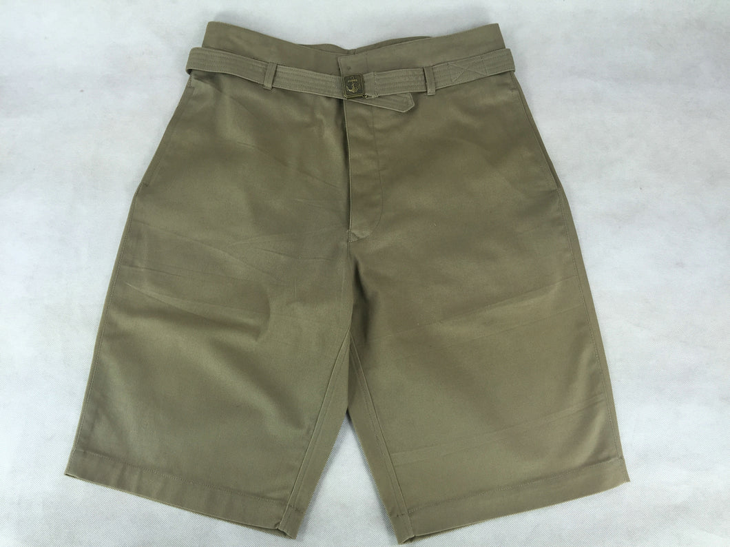 WWII Japanese Navy IJN Tropics Shorts Heavy Cotton