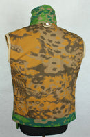 WWII German Palm Forest Camo Panzer Wrap Tunic Spring