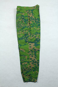 WWII German Palm Forest Camo Panzer Trousers Spring
