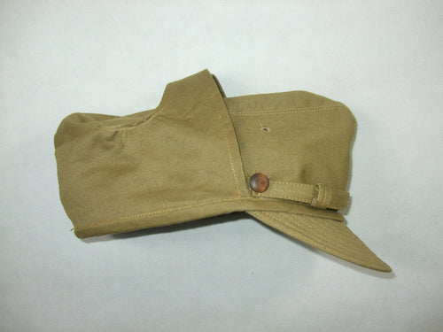 WWII WW2 Italian Uniform M1942 Tropical Troops Field Visor Cap