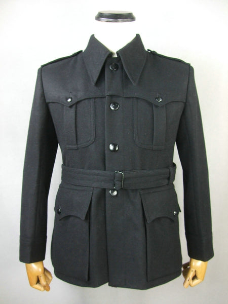 WW2 Italy Italian NFP Black Wool Officer Tunic Giacca