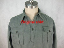 Load image into Gallery viewer, WW2 Italy Italian M1939 M39 Shirt Top Flannel