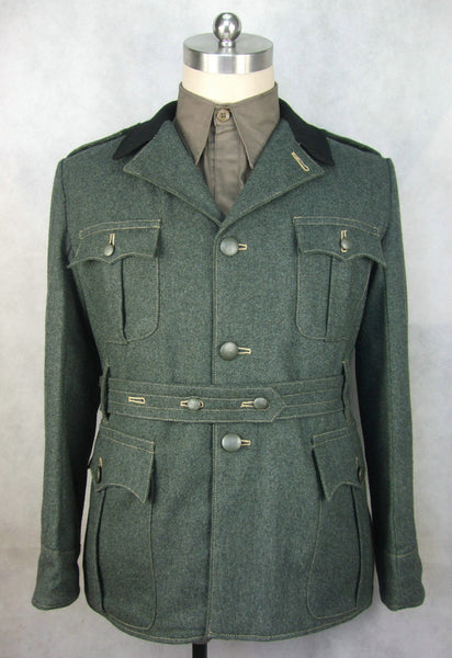 WW2 Italy Italian M1937 Grey Green Wool Tunic Giubba