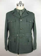 Load image into Gallery viewer, WW2 Italy Italian Troops M1940 Grey Green Wool Tunic Giubba