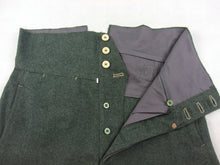 Load image into Gallery viewer, WW2 Italy Italian Infantry Troops M1935 Grey Green Wool Trousers