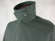 Load image into Gallery viewer, WW1 Italy Italian Grey Green Wool Mantello Coat