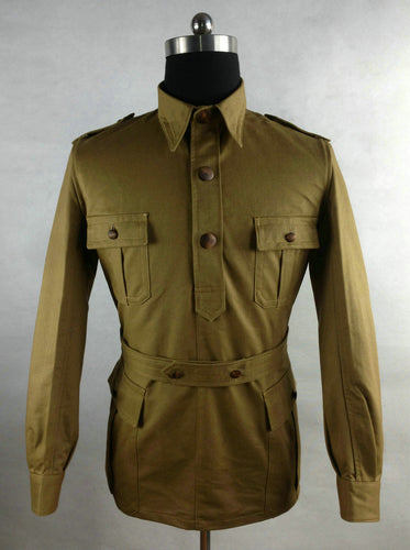WWII Italian Tropical Troops M1940 Camiciotto Saharian Shirt