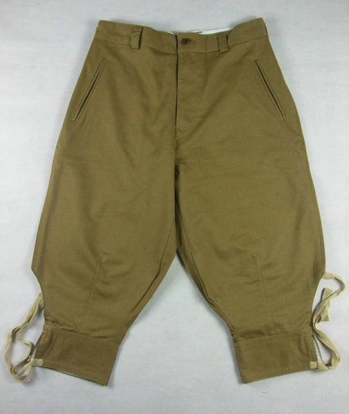 WWII WW2 Italian Tropical Troops M1940 Capri Pants Breeches