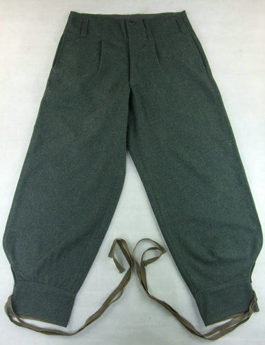 WW2 Italy Italian Gray Green Wool M1940 M40 Pants Pantalone