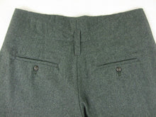 Load image into Gallery viewer, WW2 Italy Italian Gray Green Wool M1940 M40 Pants Pantalone