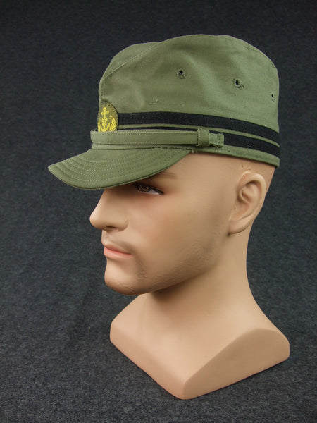 WWII IJN No.3 Third Type T3 Field Cap Officer Cotton