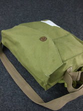 Load image into Gallery viewer, WW2 IJA Japanese Army Gas Mask Bag Green-Tan