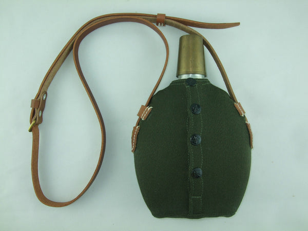 WWII Japanese Army IJA Officer Canteen Bottle Set