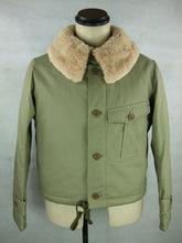 Load image into Gallery viewer, WWII Japanese Army IJA Tank Tanker Tunic Winter Jacket