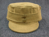 WWII Nationalist China KMT Office Wool Field Cap
