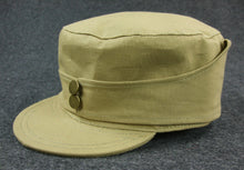 Load image into Gallery viewer, WW2 China KMT Field Cap Khaki Officer