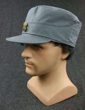 Load image into Gallery viewer, WW2 China KMT Field Cap Grey Officer